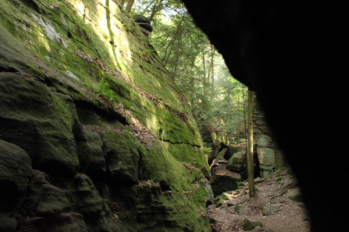 Ledges Trail in Cuyahoga Valley National Park.