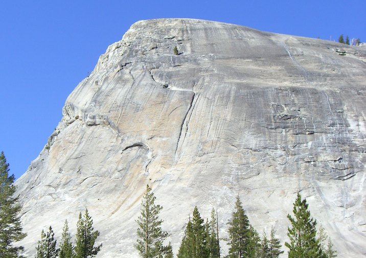Lembert Dome in Yosemite National Park, California.