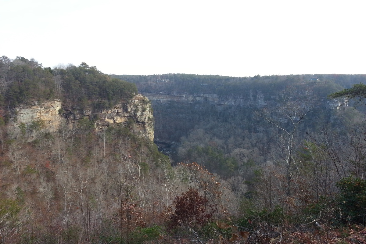 Little River Canyon National Monument in Alabama.