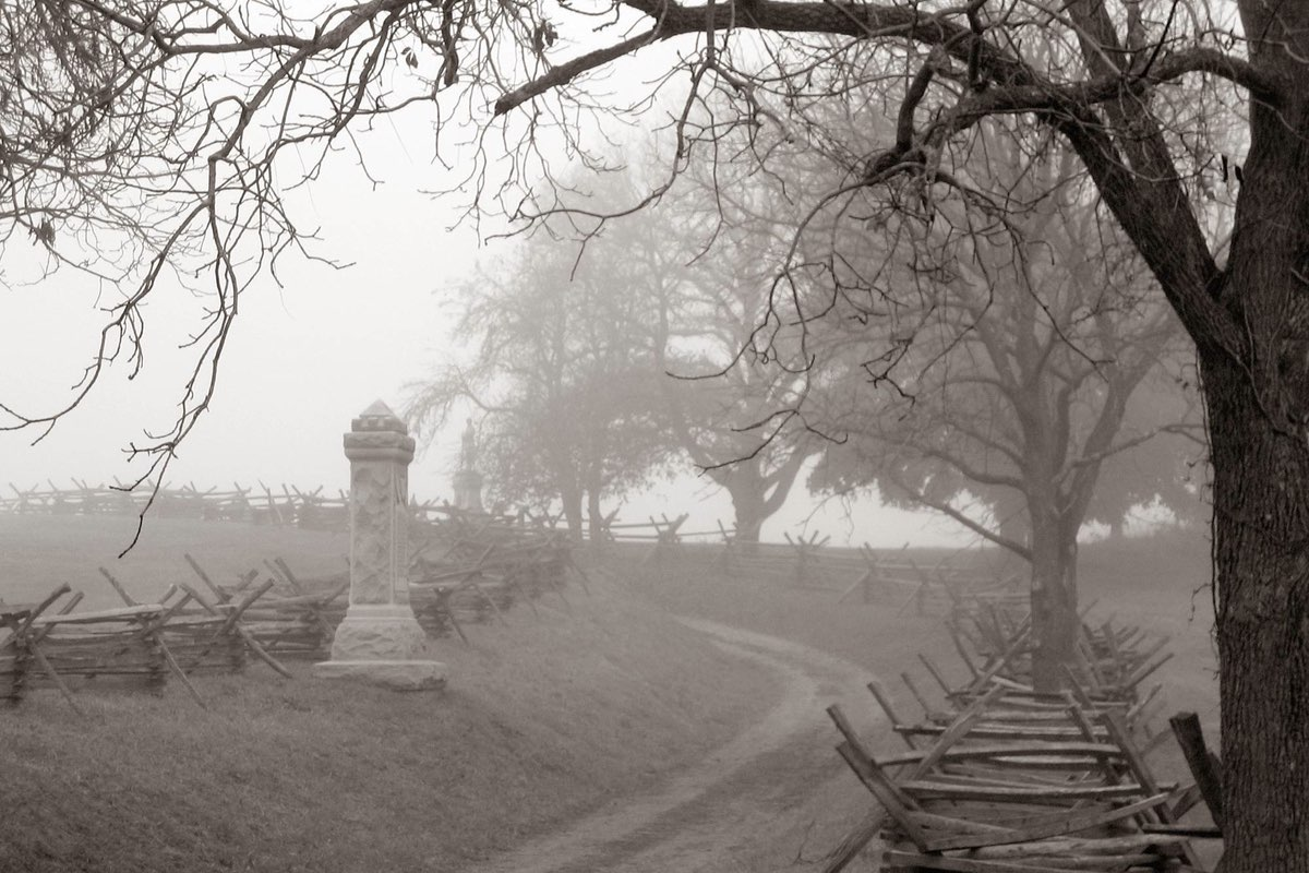 Bloody Lane in Antietam National Battlefield.