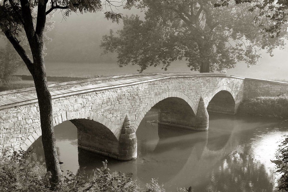 Burnside Bridge in Antietam National Battlefield.
