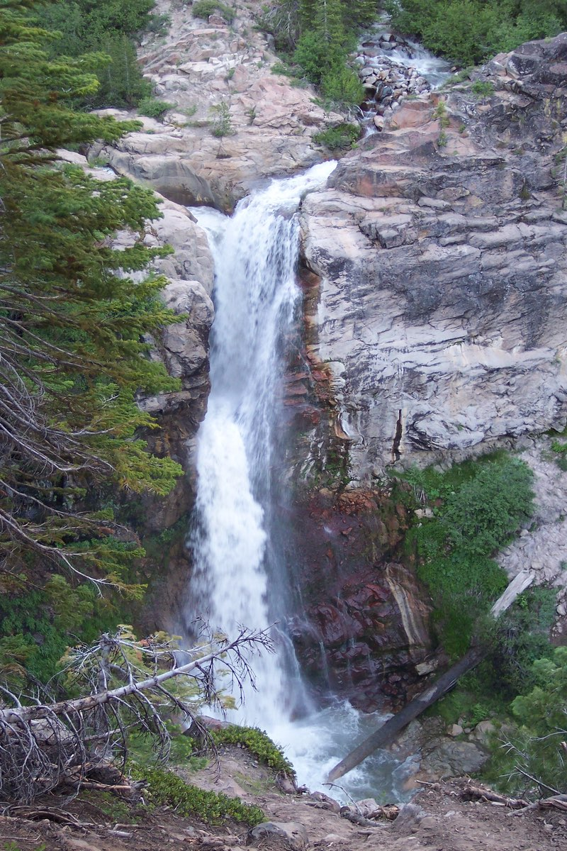 Mill Creek Falls in Lassen Volcanic National Park.