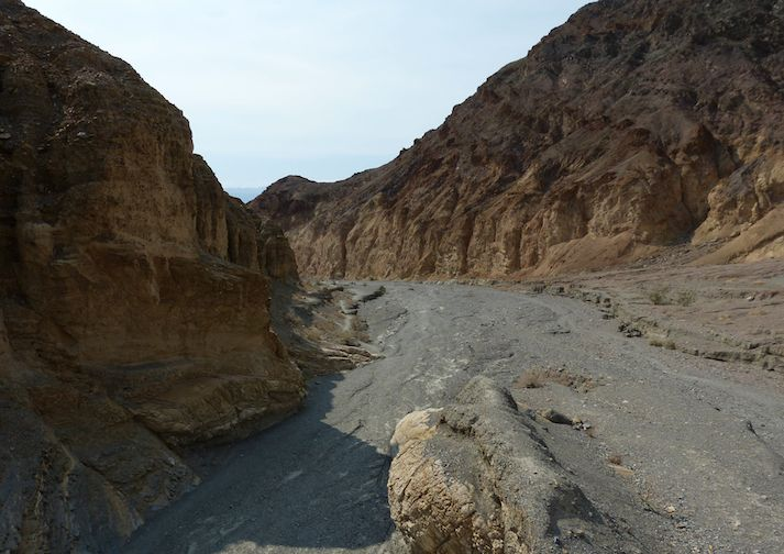Mosaic Canyon in Death Valley National Park, California.
