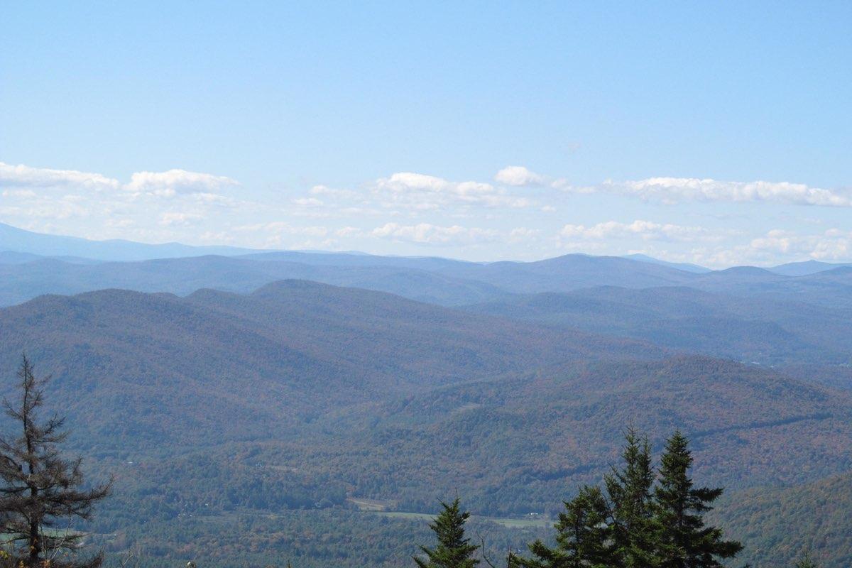 Mt. Ascutney State Park summit.