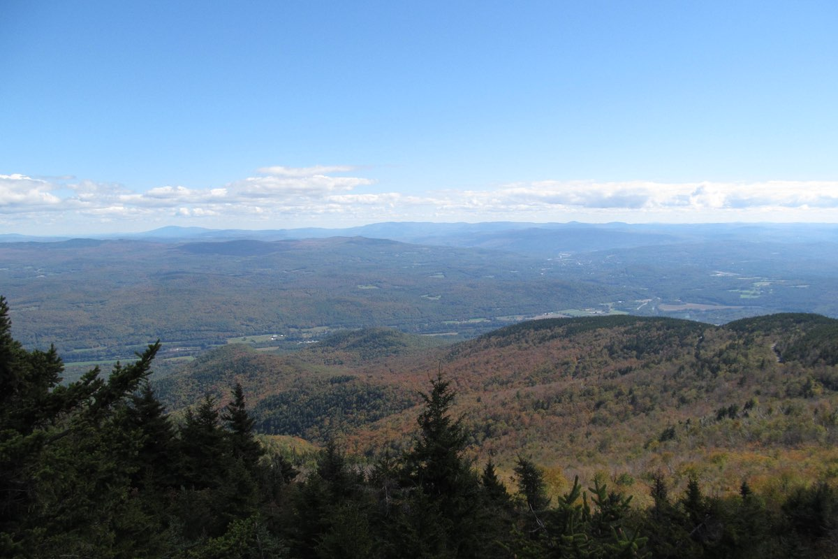 Mt. Ascutney State Park summit.