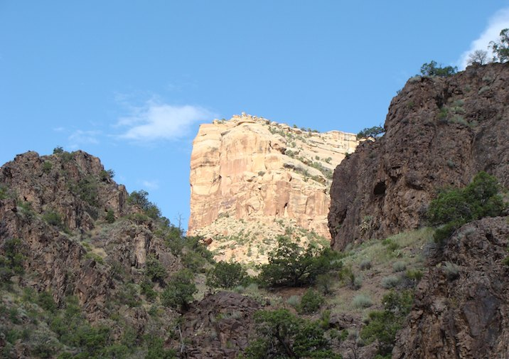 View from No Thoroughfare Canyon