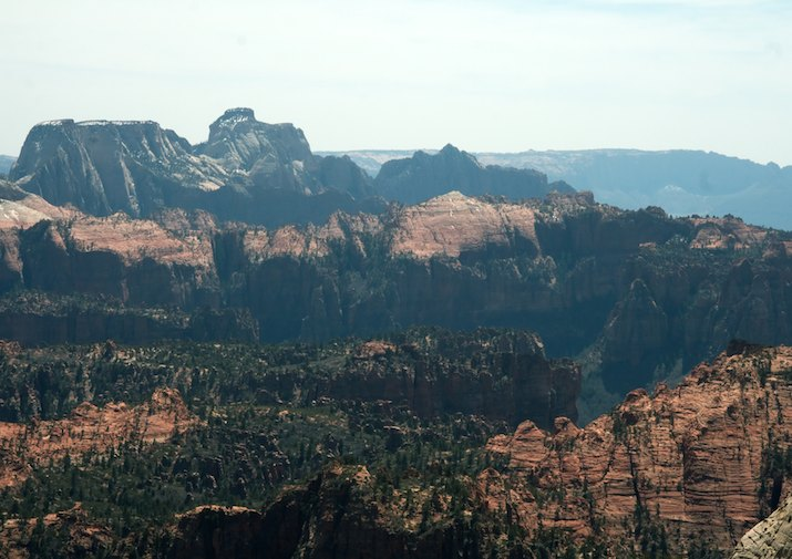 Northgate Peaks Trail in Zion National Park.