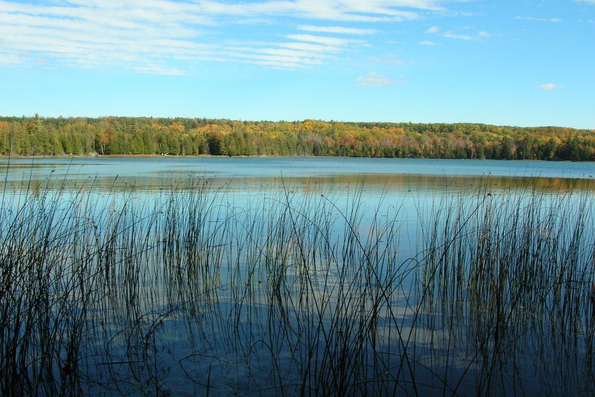 Otter Lake in Sleeping Bear Dunes National Lakeshore in Michigan.
