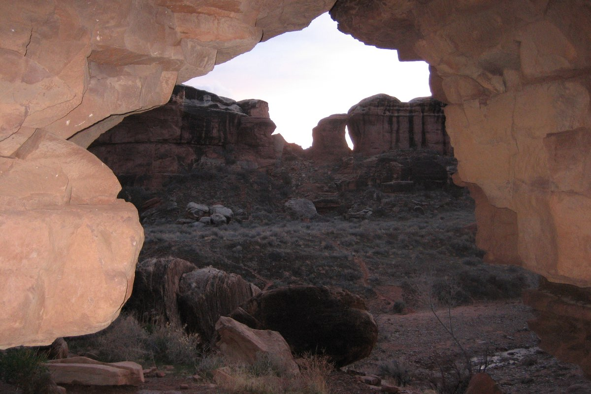 Peekaboo in Canyonlands National Park.