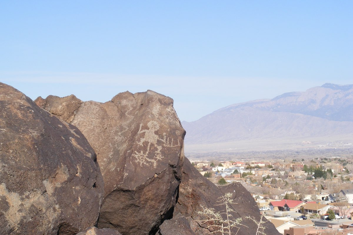 Petroglyph National Monument near Albuquerque New Mexico.