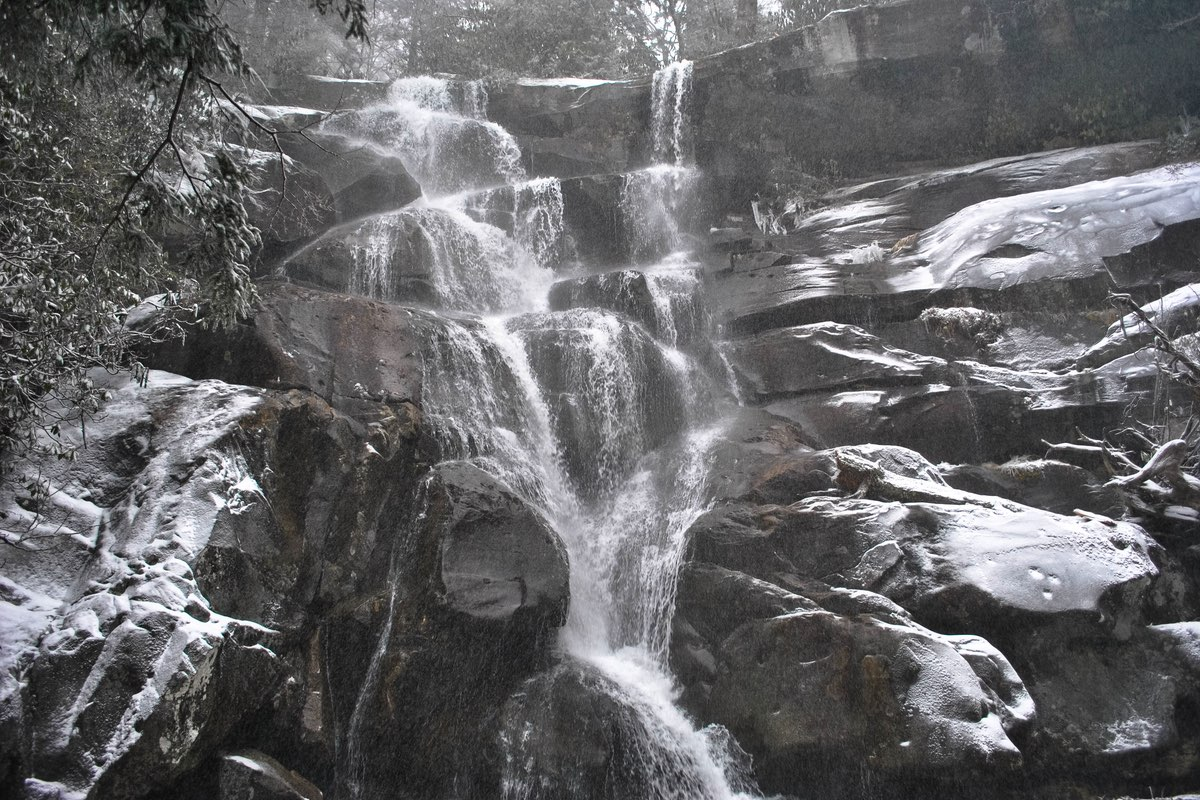 Ramsey Cascades in Great Smoky Mountains National Park.
