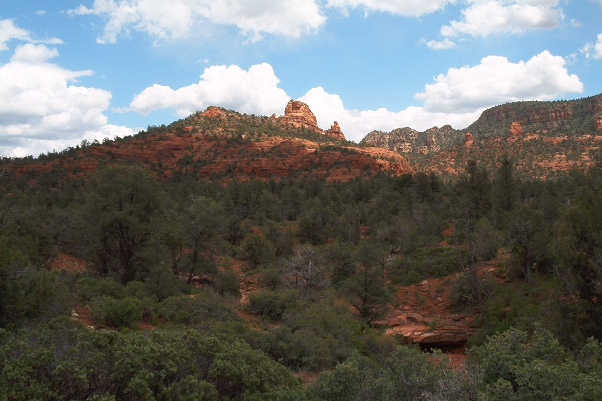 Beautiful Red Rock State Park near Sedona Arizona.