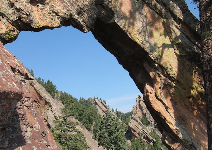 Royal Arch bear Boulder Colorado