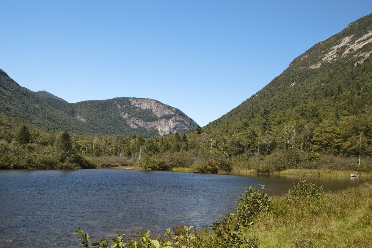 Saco River in Crawford Notch State Park.