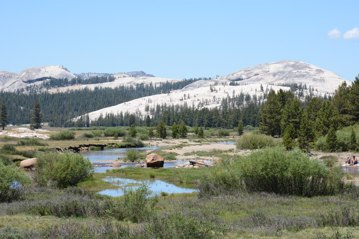 Soda Springs Trail in Yosemite National Park.