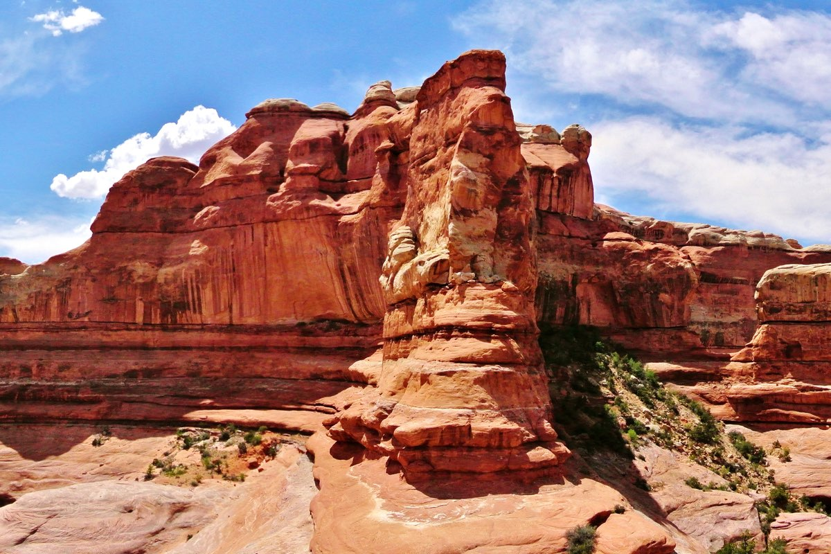 Squaw Canyon in Canyonlands National Park.