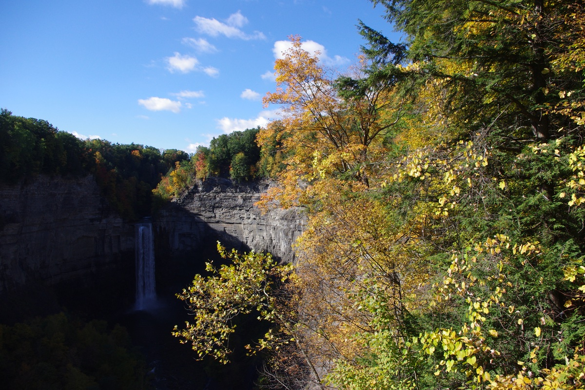 Taughannock Falls in New York.