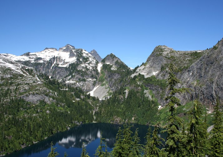 Thornton Lake in North Cascades National Park.