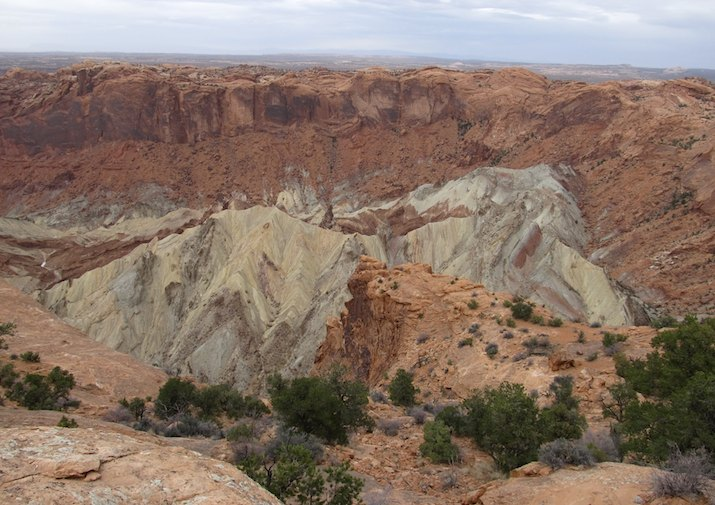 Stunning Upheaval Dome in Canyonlands National Park.