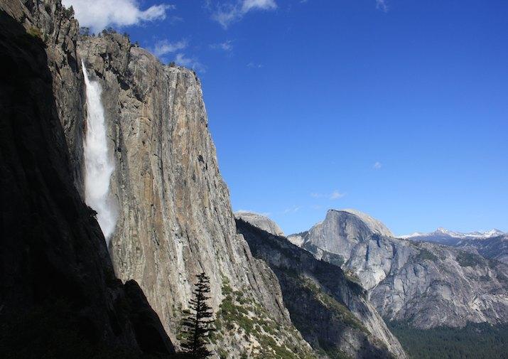 Upper Falls in Yosemite National Park.