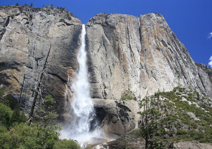 Upper Falls in Yosemite National Park.