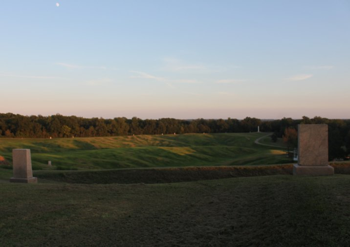 Vicksburg National Battlefield.