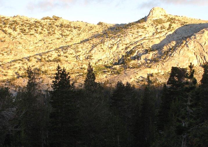 Vogelsang High Sierra Camp in Yosemite National Park.