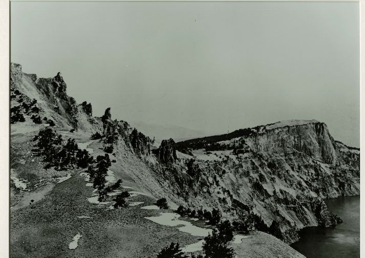 Watchman Overlook photograph taken in 1900.