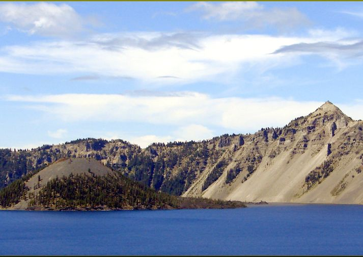 Crater Lake from the Watchman Peak Trail.