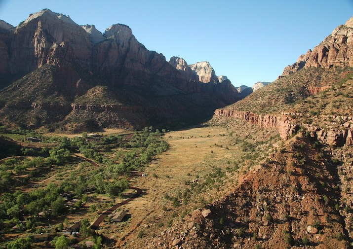 Watchman Trail in Zion National Park.