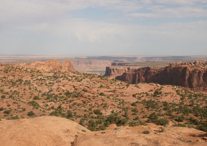 Whale Rock Trail in Canyonlands National Park.
