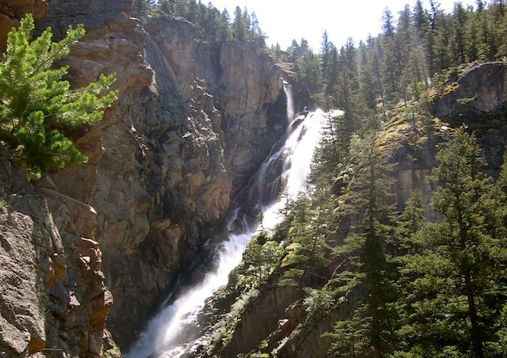 Woodbine Falls near Billings Montana