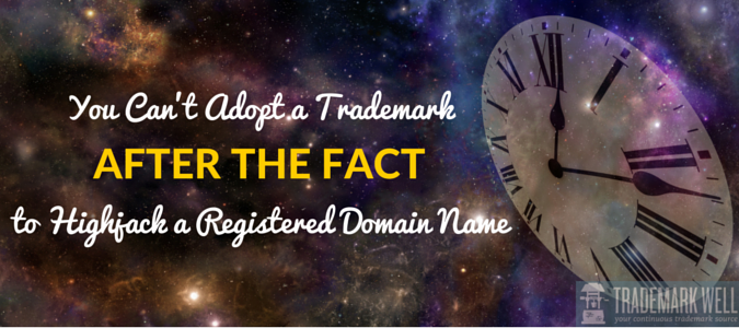 Trademark Rights vis-a-vis Domain Name Rights