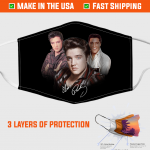 Elvis Presley Face Mask – Made in the USA