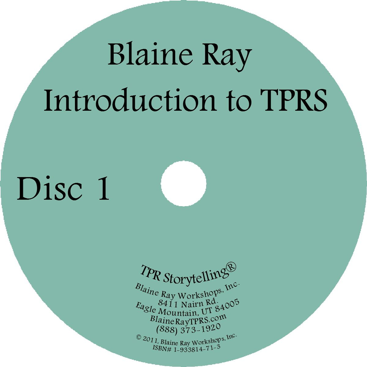 Introduction to TPRS DVD - TPRS Books