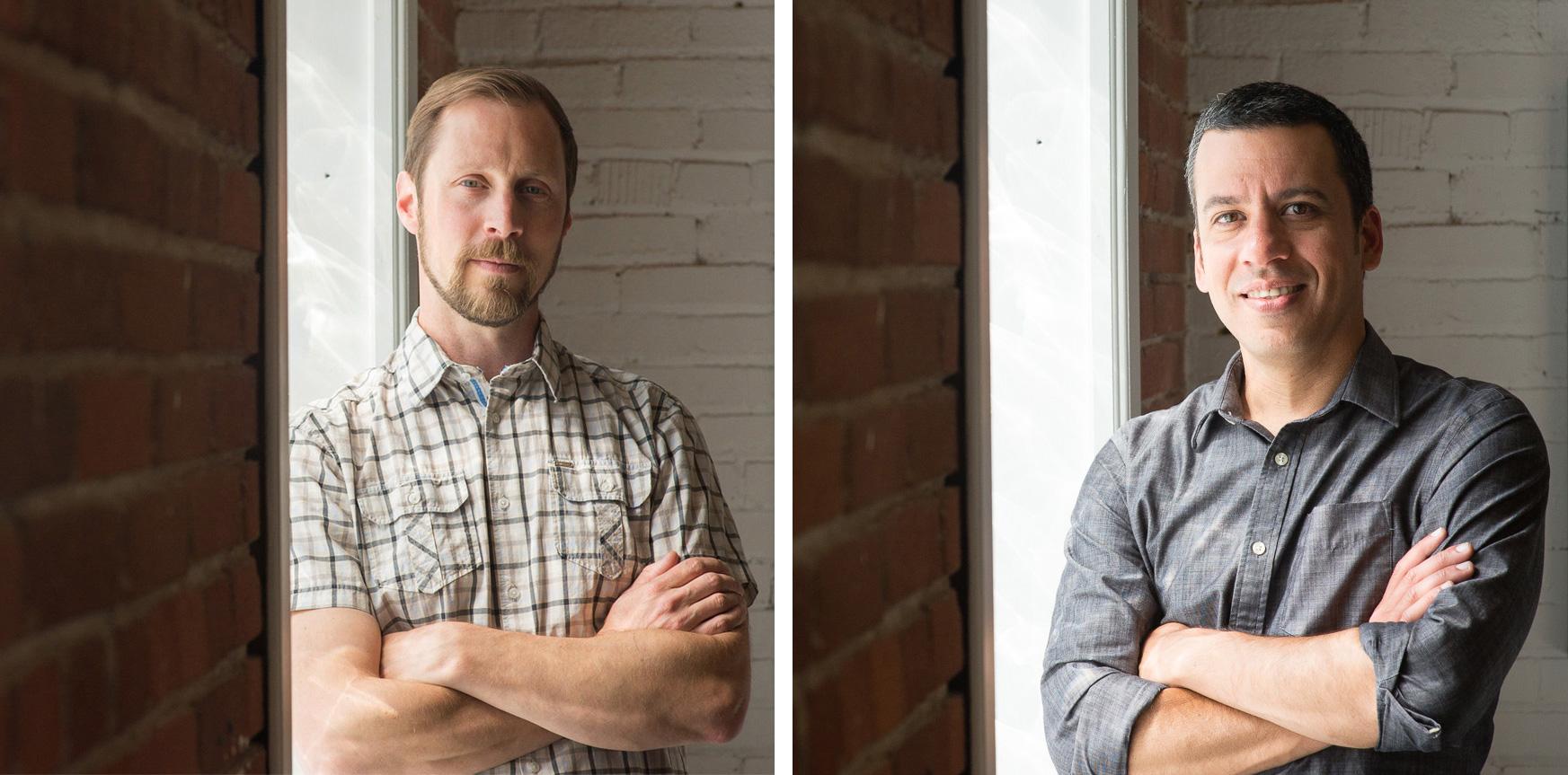 Ryan Jorgensen (left) and Daniel Nobre (right), principals at The Rapid Eye Movement