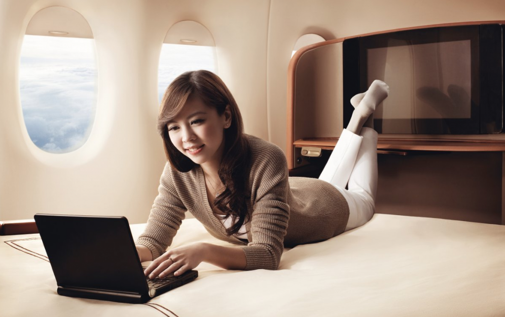 Singapore Airlines firts class