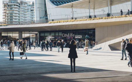 El centro comercial más grande de Milán