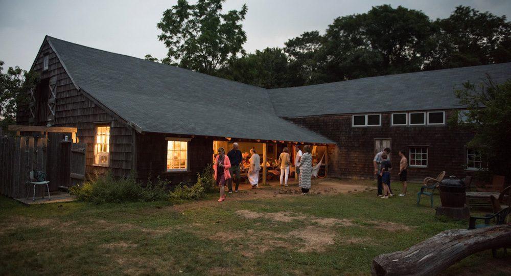 La noche en The Barn.