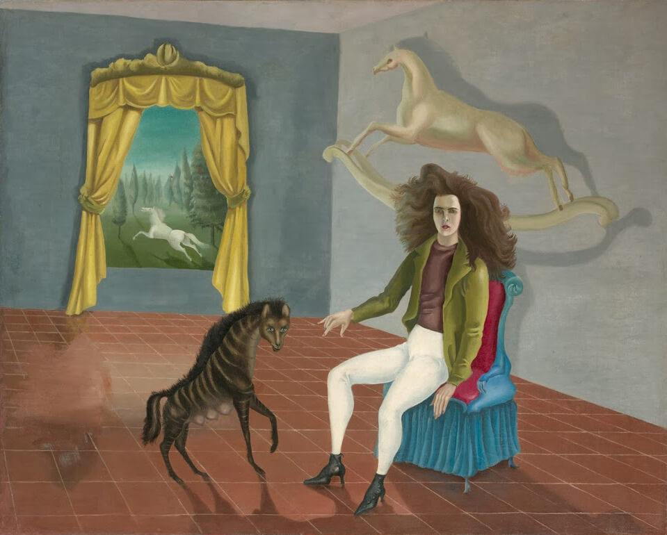 Leonora Carrington. Autorretrato (1937-38)