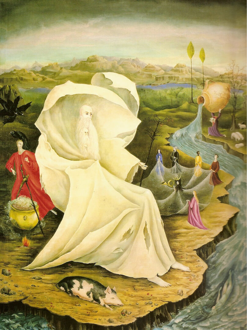 Leonora Carrington. The Temptation of Saint Anthony (1946)