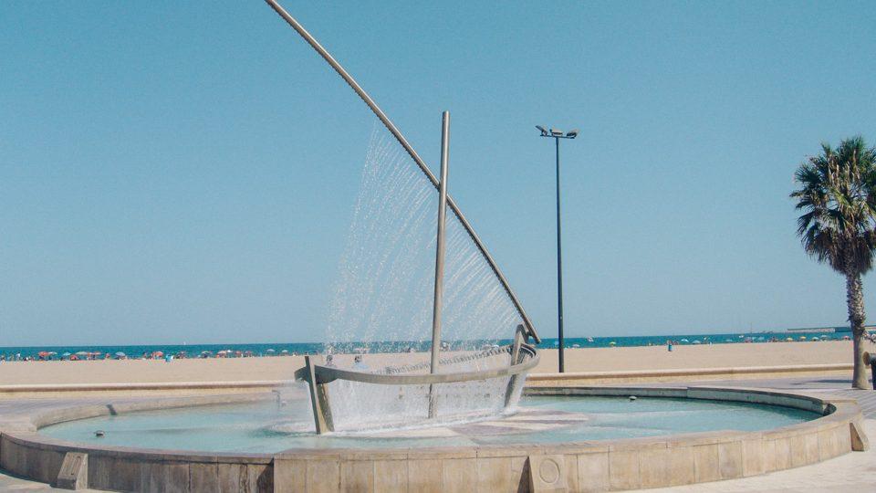 Fuente del bote, en Valencia, España