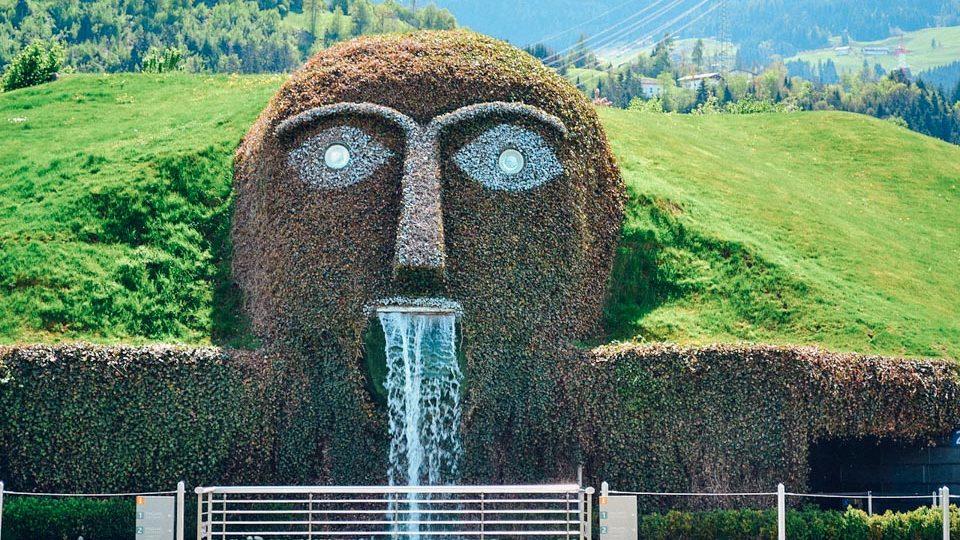 Fuente de Swarovski en Innsbruck, Austria