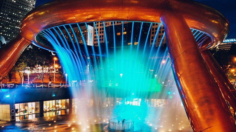 Fuente de la Riqueza, en Suntec City, Singapur