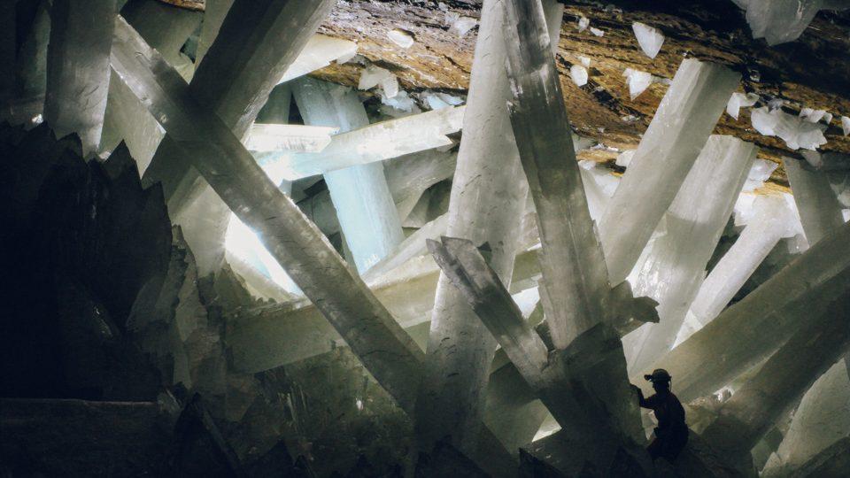 Cueva de Naica, en Chihuahua