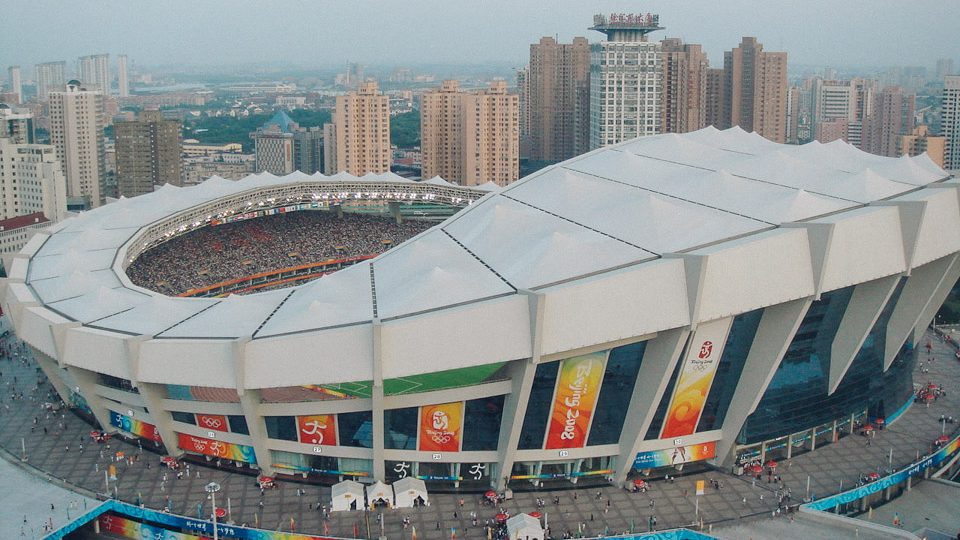 Estadio de Shanghái, en Shanghái, China
