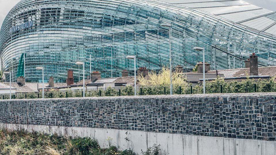 Estadio Aviva, en Dublín, Irlanda