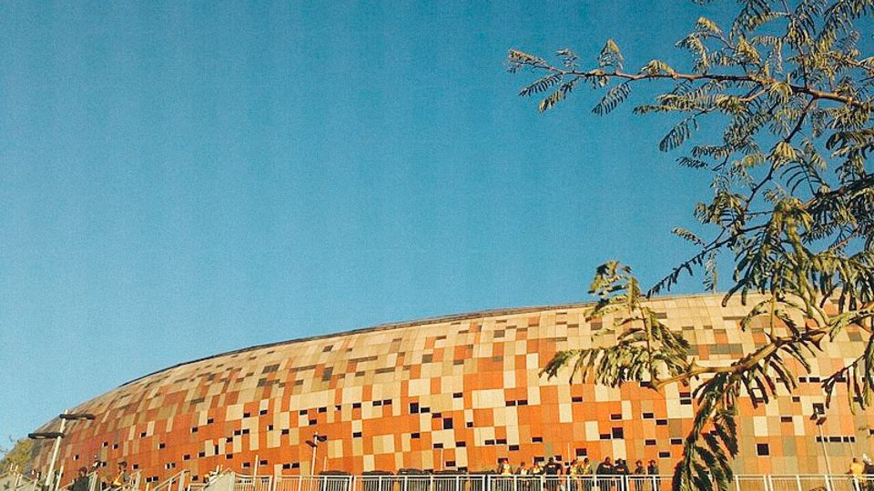 Estadio Soccer City, en Johannesburgo, Sudáfrica