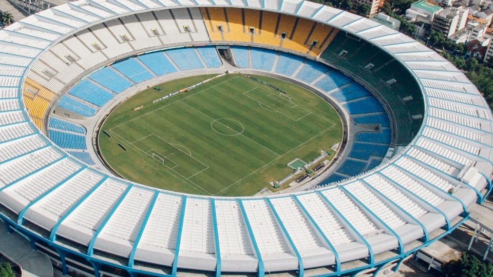 Estadio de Maracaná, en Río de Janeiro, Brasil