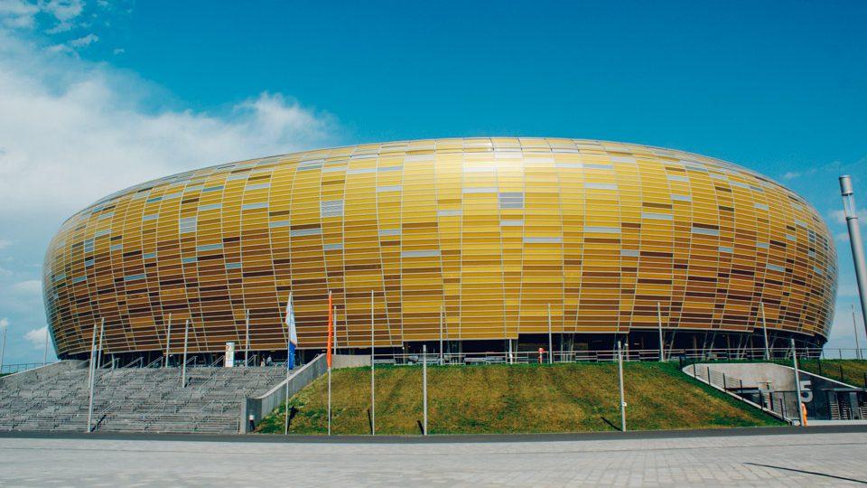 Arena Gdansk, en Gdansk, Polonia